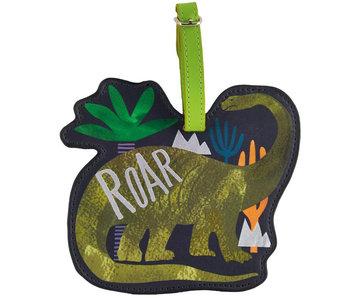 Floss & Rock Étiquette de bagage Dinosaure - 13,5 cm