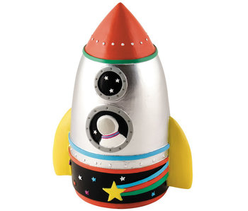 Floss & Rock Tirelire 3D Rocket - 14 cm