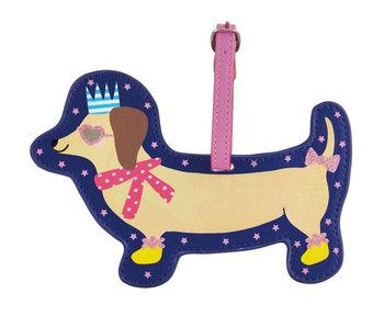 Floss & Rock Gepäcketikett Hund - 15 cm