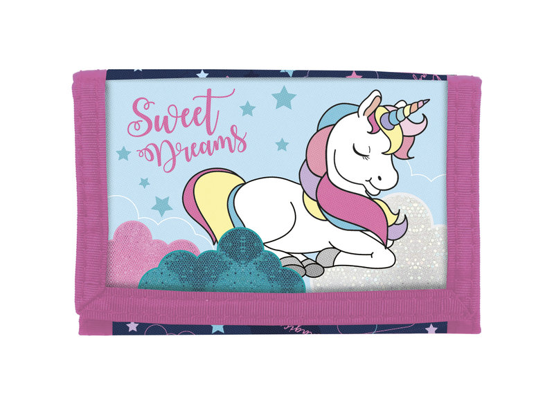 Unicorn Wallet Dreams - 12 x 8 cm - Multi