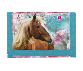 Animal Pictures Horse Wallet - 12 cm