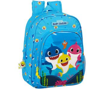 Baby Shark Backpack Baby Shark - 34 cm
