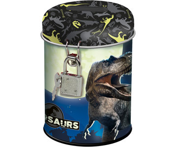 Dinosaurus Money box with lock 11.5 cm