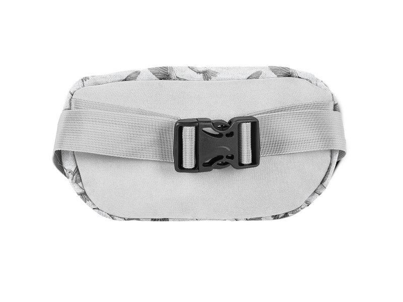 BeUniq Waist Bag Hummingbird - 24 x 13 x 9 cm - Gray