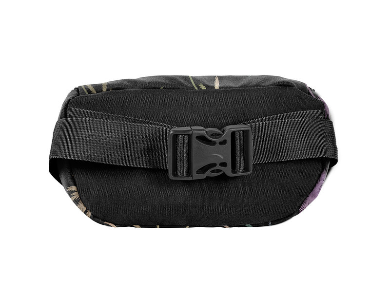 BeUniq Waist bag Palm tree - 24 x 13 x 9 cm - Black