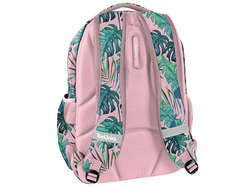 BeUniq Backpack Plants - 43 x 30 x 25 cm - Pink