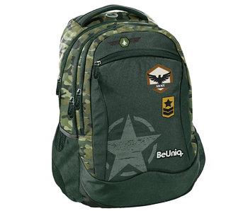 BeUniq Army backpack - 43 cm