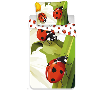 Animal Pictures Duvet cover Ladybugs 140 x 200