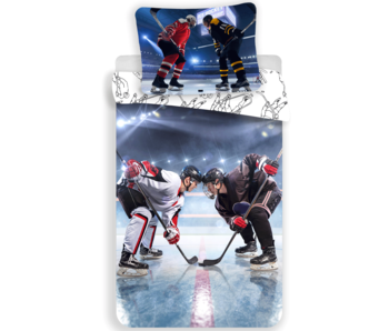 Sport Dekbedovertrek Ice Hockey 140 x 200