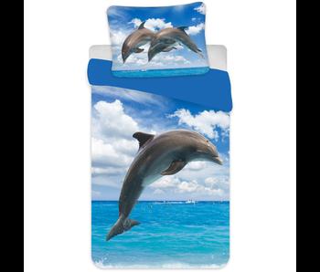Animal Pictures Dekbedovertrek Dolfijn 140 x 200