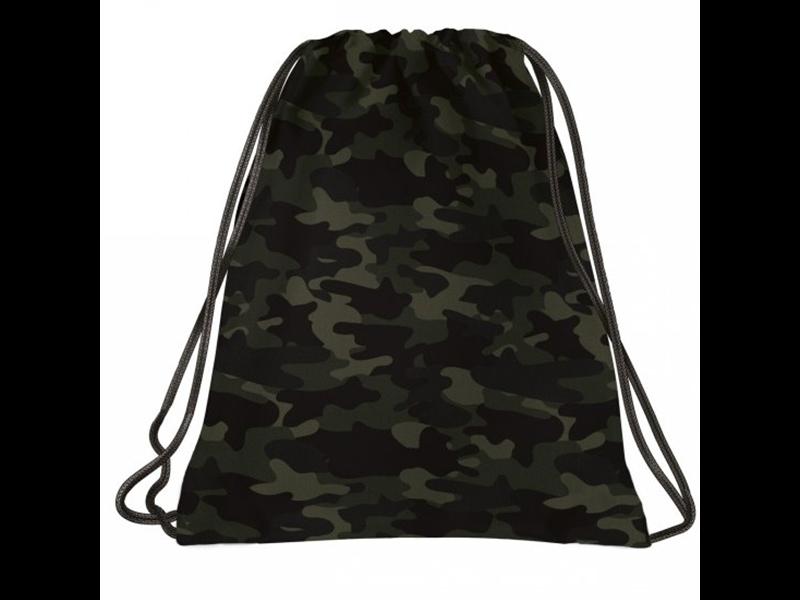 BackUP Gymbag Camo - 41 x 35 cm - Vert