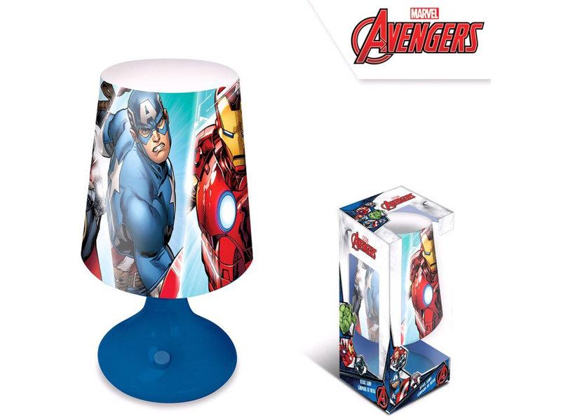 Marvel Avengers Tafellamp - 18 cm - Blauw