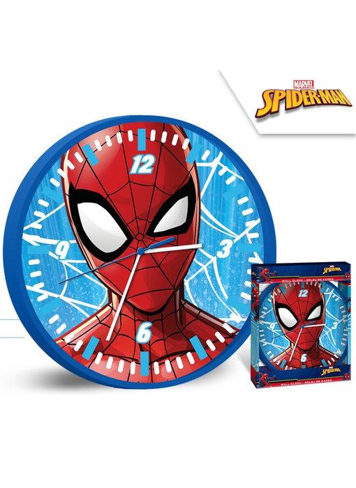 SpiderMan Wandklok - Ø 25 cm