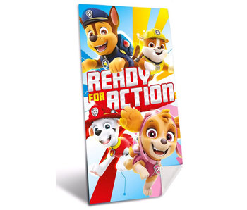 PAW Patrol Ready for Action  strandlaken 70 x 140 cm