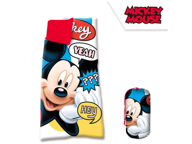 Disney Mickey Mouse children's sleeping bag - 68 X 138 cm - Multi