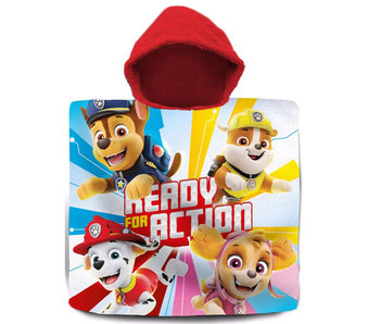 PAW Patrol Ready for Action poncho  60 x 120 cm