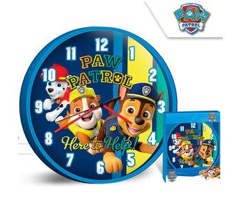 PAW Patrol horloge murale Here to help 25 cm