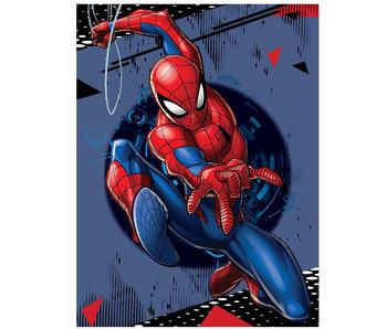 SpiderMan Fleece deken Swing Shot 100 x 140 cm