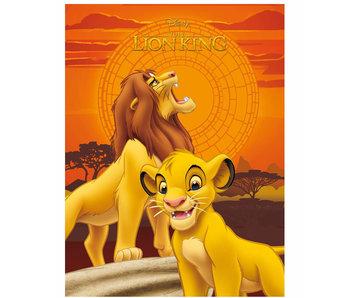Disney The Lion King Fleece plaid Simba 100 x 140 cm