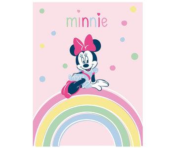 Disney Minnie Mouse Fleece werfen Regenbogen 100 x 140 cm