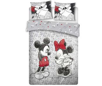 Disney Minnie Mouse Housse de couette Cartoon 240 x 220 cm