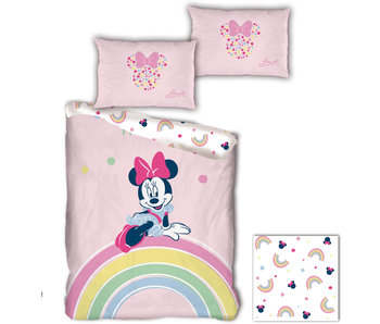 Disney Minnie Mouse Dekbedovertrek Rainbow 140 x 200