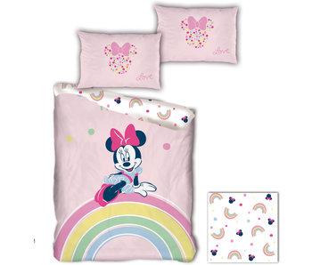 Disney Minnie Mouse Housse de couette Rainbow 140 x 200