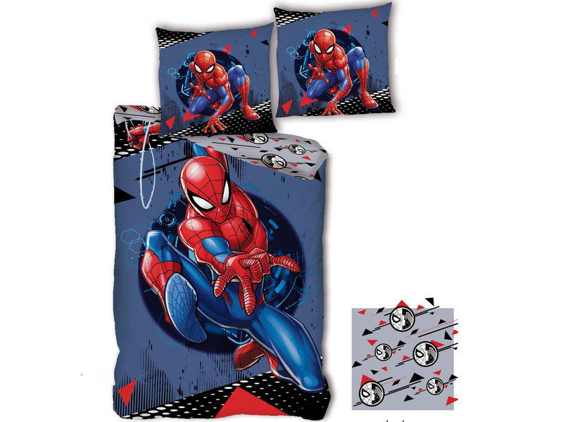 SpiderMan Duvet cover Hero - Single - 140 x 200 cm - Polyester