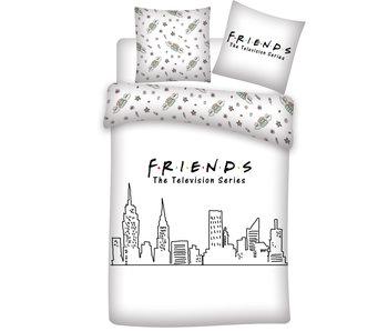 Friends Housse de couette Skyline 240 x 220 cm