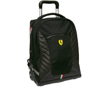 Ferrari Backpack Trolley Nero Premium - 47 cm
