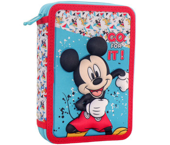 Disney Mickey Mouse 3D filled pouch 21 x 15 x 5 cm