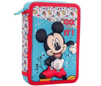 Disney Mickey Mouse 3D gefüllter Beutel 21 x 15 x 5 cm