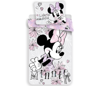 Disney Minnie Mouse Dekbedovertrek Beautiful 140 x 200