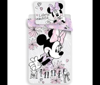 Disney Minnie Mouse housse de couette 140 x 200 cm 70 x 90 cm