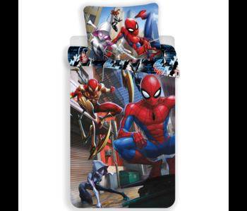 SpiderMan Housse de couette Action 140 x 200