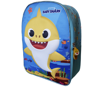 Baby Shark Sac à dos enfant jaune - 29 cm
