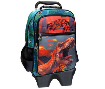 Jurassic World Backpack Trolley T-Rex - 52 cm