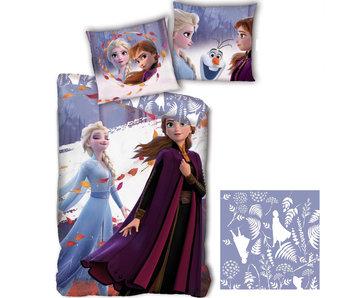 Disney Frozen Bettbezug Nature 140 x 200