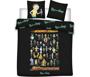 Rick and Morty Duvet cover Story Train 240 x 220 cm