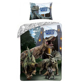 Jurassic World Duvet cover T-Rex - Single - 140 x 200 cm - Multi