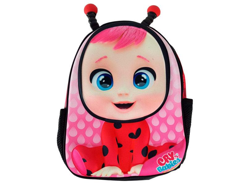 Cry Babies Peuterugzak 3D Eva Lady  - 30 x 24 x 11 cm - Roze
