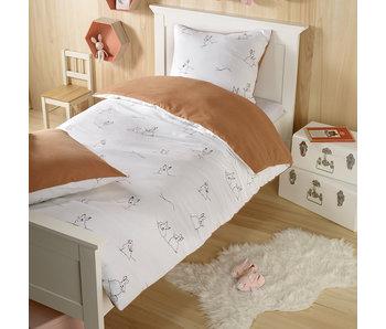 De Witte Lietaer Duvet cover Rabbit 140 x 220 cm