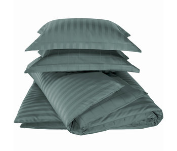 De Witte Lietaer Bettbezug Baumwolle Satin Zygo Atlantic 240 x 220 cm
