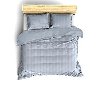 De Witte Lietaer Bettbezug Baumwollsatin Zygo Ice Blue 240 x 220 cm