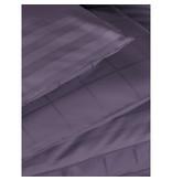 De Witte Lietaer Dekbedovertrek Katoen Satijn Zygo - Hotelmaat - 260 x 240 cm - Paars