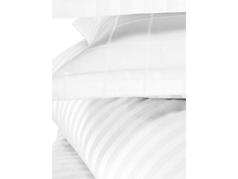 De Witte Lietaer Duvet cover Cotton Satin Zygo - Hotel size - 260 x 240 cm - White