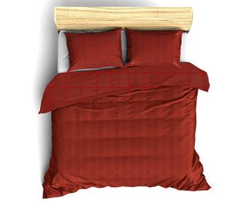 De Witte Lietaer Bettbezug Baumwolle Satin Zygo Chili Pfeffer 260 x 240 cm