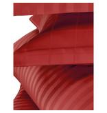 De Witte Lietaer Dekbedovertrek Katoen Satijn Zygo - Hotelmaat - 260 x 240 cm - Rood