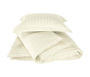De Witte Lietaer Bettbezug Baumwolle Satin Zygo Elfenbein 140 x 220 cm