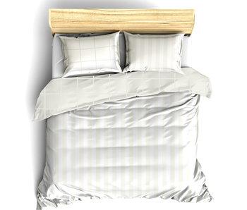 De Witte Lietaer Bettbezug Baumwolle Satin Zygo Elfenbein 240 x 220 cm